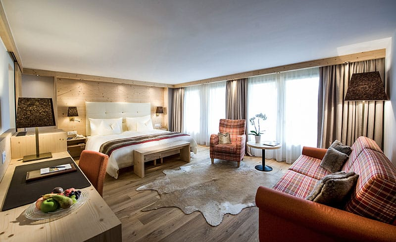 Golfhotel Les Hautes Gstaad Zimmer